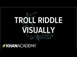 Seeking Troll Name Systems Of Equations Trolls Tolls 2 Of 2 Khan Academy