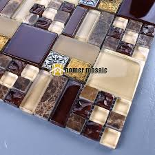 Glass And Stone Backsplash Tile by Rustic Stone Backsplash Promotion Shop For Promotional Rustic