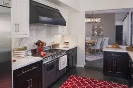 red kitchen accents kitchen design