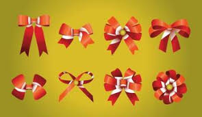 ribbon bow free vector 2861 free downloads