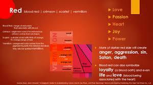colors on emotions presents u2026 ppt video online download