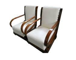 Art Deco Armchairs Italian Leather Art Deco Armchairs Mid Century Furniture Mid