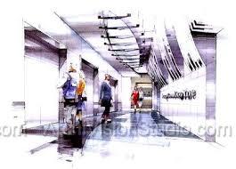 interior design sketches iad renderings pinterest interior