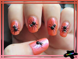 nail art spider web nail art designsspider designs halloween