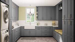 42 inch kitchen cabinets grey shaker
