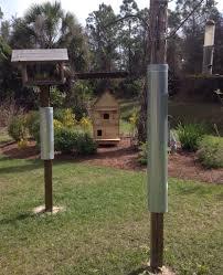 bird feeder pole bought a broken piece of pvc pipe for a 1 00