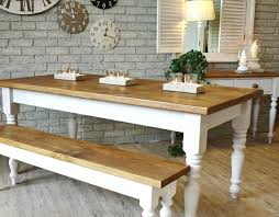 dining room sets with bench seating off white storage small table