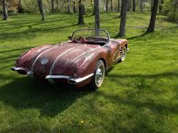corvette project cars 1958 chevrolet corvette project car for sale in united states