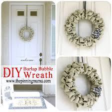 easy diy burlap wreaths that will make your neighbors jealous