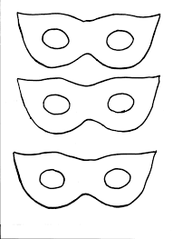 eye mask template masks mask pencil and in color masks mask