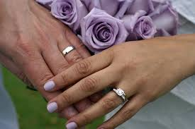 His And Her Wedding Rings by 3 Pcs Womens Mens Stainless Fair Wedding Rings Sets For Him And