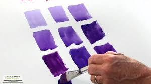 watercolor techniques with don andrews mixing violets youtube