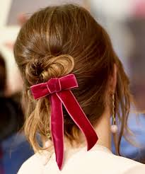 hair ribbon hairstyle accessories trend hair bows ribbons