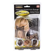 ez combs ez combs black sandlewood decorative hair combs