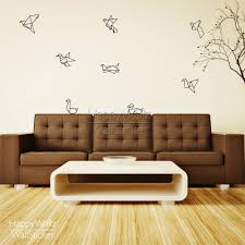 aliexpress com buy paper crane wall stickers modern crane wall aliexpress com buy paper crane wall stickers modern crane wall decal decorative modern wall art stickers removable compass wall decors 5105m from reliable