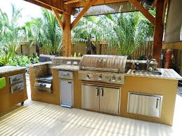 Outside Kitchen Ideas Kitchen Perfect Outdoor Kitchen Kits Ideas Prebuilt Outdoor
