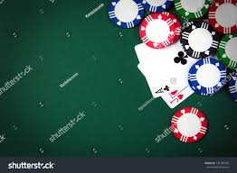 blackjack playing cards casino poker chips stock photo 135705740