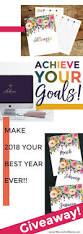 setting goals for 2018 to have your best year ever