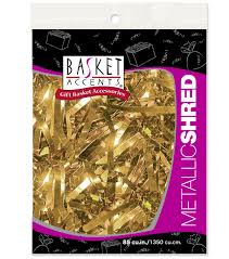 mylar shred metallic shred gold joann