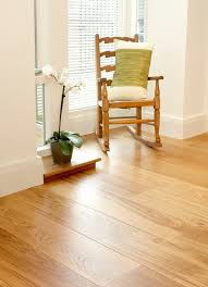 creative of solid wood click flooring oak brushed and