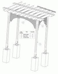 garden arbor plans designs sw100 arbor swing plans construction