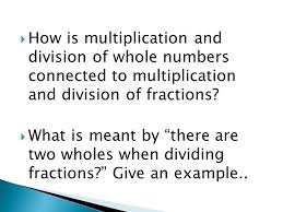 what is multiplication multiplication and division of fractions and decimals ppt