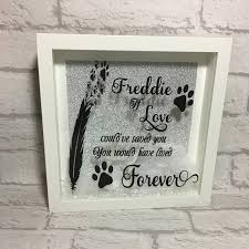 remembrance picture frame pet loss frame pet loss box frame pet loss memorial