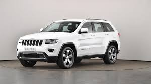 used jeep cherokee used jeep grand cherokee 3 0 crd limited plus 5dr auto white