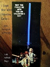 wars valentines day cards wars happy day diy glow stick printable