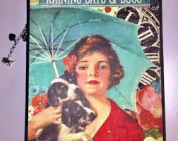 personalized dog photo album dog scrapbook album etsy