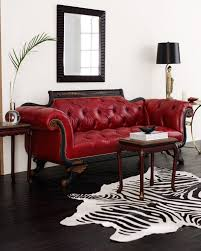 Old Leather Sofa Decor Alluring Old Hickory Tannery For Home Furniture Ideas