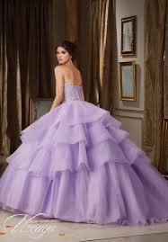 tulle and organza quinceañera dress style 89111 morilee