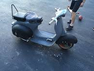 modern vespa u002765 allstate brakelight taillight wiring
