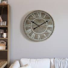 overstock com home decor yosemite home décor rustic age wall clock free shipping today