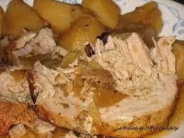 comment cuisiner roti de porc la cuisine en fête de sakya rôti de porc avec patate jaune pomme