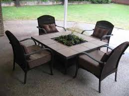 Patio Table And Chairs Set Patio Table With Fire Pit Lowes Patio Decoration