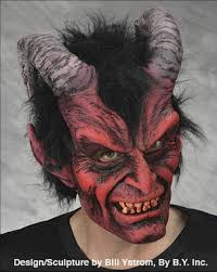 Realistic Halloween Costume Realistic Horns Evil Devil Menecing Demon Diablo Creature