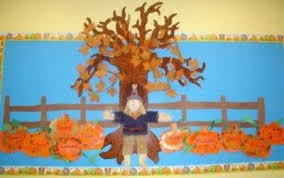 great thanksgiving bulletin board could write what th