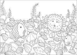 rainbow fish coloring pages coloring pages kids