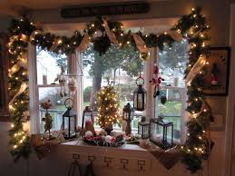 Bay Decoration For Christmas by Bay Window Christmas Decorating Ideas Day Dreaming And Decor