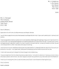 fancy cover letter for maintenance mechanic position 67 for resume