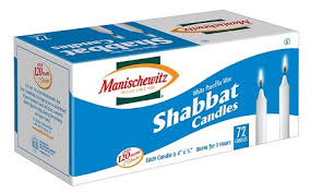 rokeach shabbos candles shabbat candles 72 count of 8
