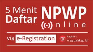 membuat npwp lewat online cara cepat dan mudah daftar npwp secara online seruni id