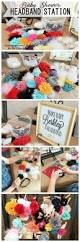 43 best baby shower headband station images on pinterest diy