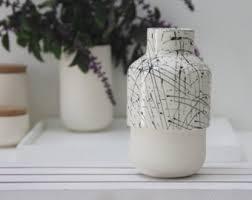 ceramic bud vases etsy