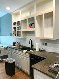 can thermofoil kitchen cabinets be painted painted kitchen cabinets tutorial at home with the barkers