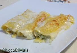 giallo zafferano cucina vegetariana cannelloni broccoli e fontina ricetta vegetariana
