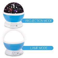 amazon com night light kids lamp romantic rotating sky moon