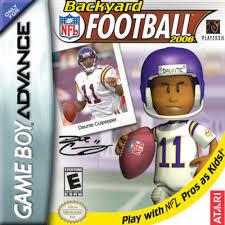 Backyard Baseball Ds Backyard Football Game Boy Advance Game