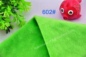 drap canap 602 vert microfibre minky doux velboa tricot tissu pour coudre